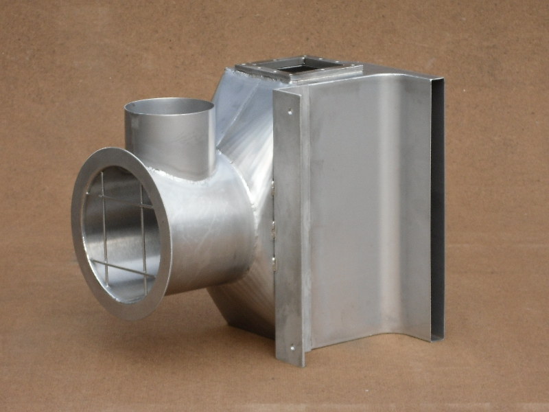 Transition piece manufactured from 304 stainless steel