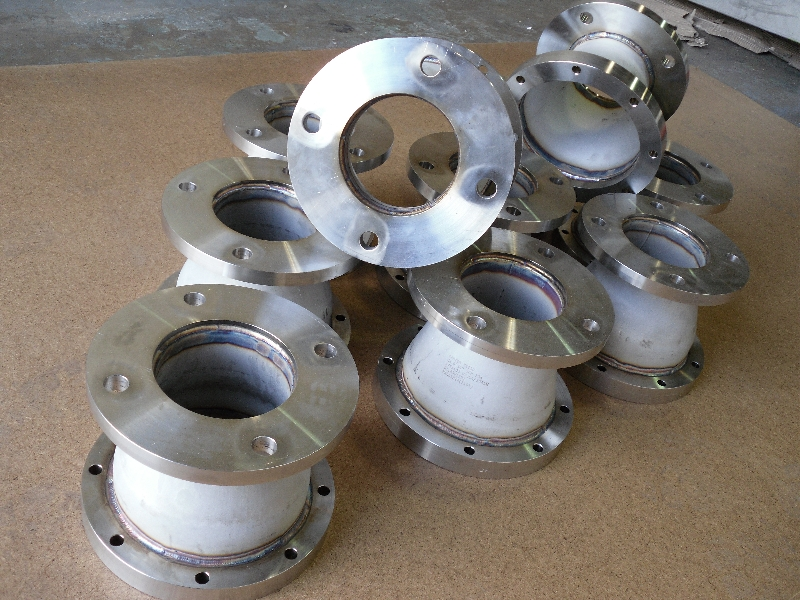 Pipe reducers manufactured from 316 stainless steel