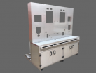 Test rig fabrication manufactured from 304 stainless steel