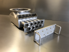 Magnet housing fabrication manufactured from 304 stainless steel