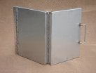 Folding lid fabrication manufactured from 304 stainless steel